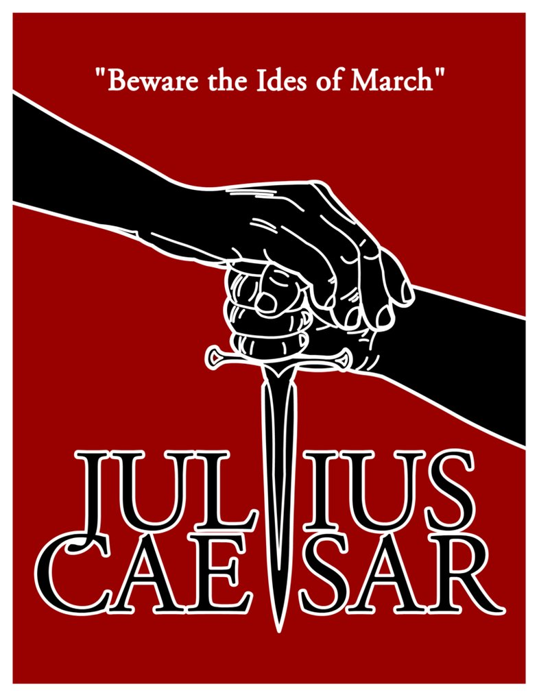 an analysis of the characters in julius caesar a play by william shakespeare The tragedy of julius caesar  by william shakespeare literary analysis: tell what issue the two characters disagree about.